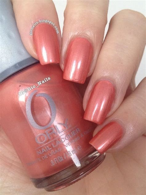 Orly Peachy Parrot orly peachy parrot swatch by giovanna gionails nailpolis museum of nail