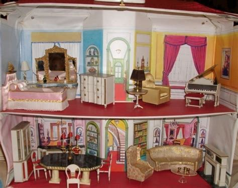 princess doll houses petite princess dollhouse furniture w dollhouse by ideal revised