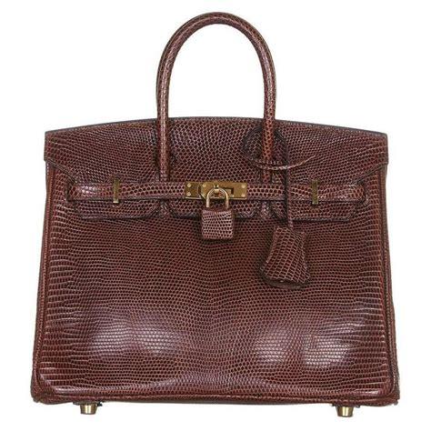 Fashion Bag 1608 V hermes cocaon lizard birkin 25 bag at 1stdibs
