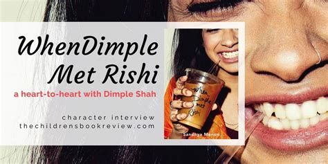 libro when dimple met rishi dimple shah from when dimple met rishi the childrens book review