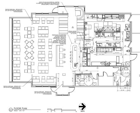 restaurant floor plan with dimensions restaurant kitchen size best of restaurant kitchen layout