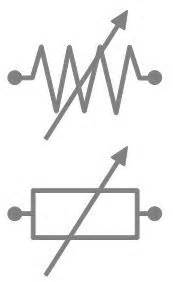 electrical symbol for resistor resistance in motion what you should about variable resistors hackaday