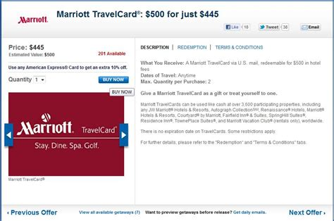 Where Can I Buy Marriott Gift Cards - 5x daily getaways almost frequent miler