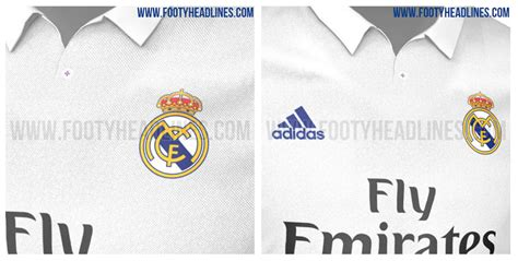 Polo Shirt Real Madrid Cl Black real madrid home jersey for 2016 17 season leaked photos