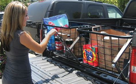 Sb Big Car Organizer lever makes it easy to move cargo onto the tailgate