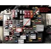 Chevrolet Blazer Questions  Where Is The Fuel Pump Relay
