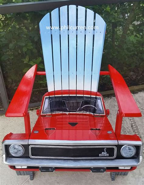 car armchair adirondack style lawn chairs that look like classic cars