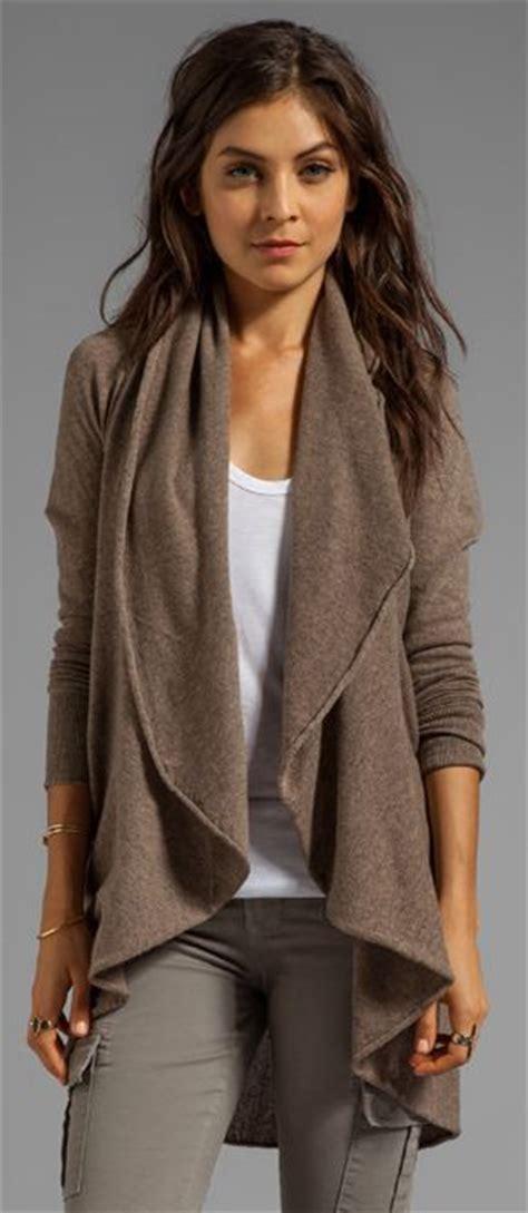 autumn cashmere drape cardigan autumn cashmere convertible flare tunic drape cardigan via