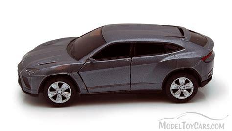 lamborghini urus gray kinsmart   scale diecast model toy car