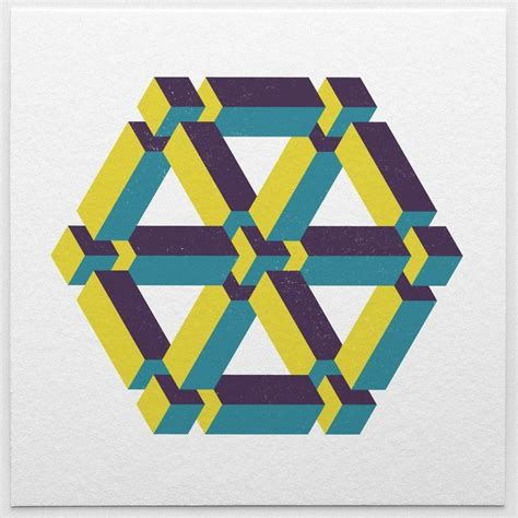 geometric pattern app isometric ios app to create colorful designs with