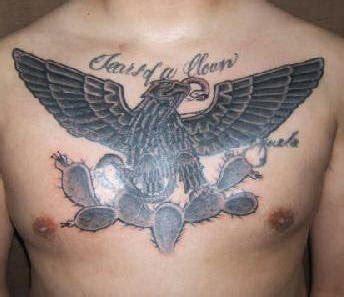 Eagle Tattoo Gang | 57 tatouages mexicains des symboles et t 234 tes de mort