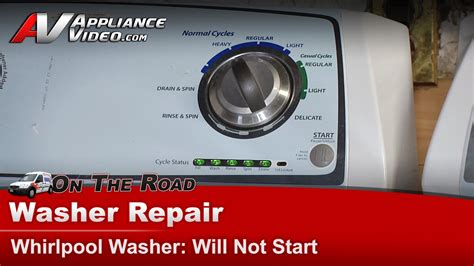 Portable Gas Cooktop Whirlpool Wtw4800xq2 Washer Repair Does Not Start