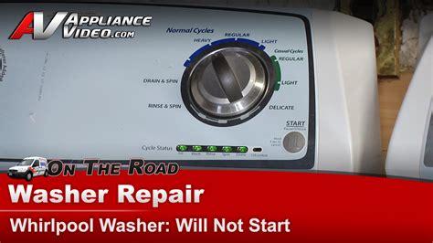 Whirlpool WTW4800XQ2 Washer Repair ? Does not start