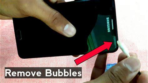 remove air bubbles   phones tempered glass hindi