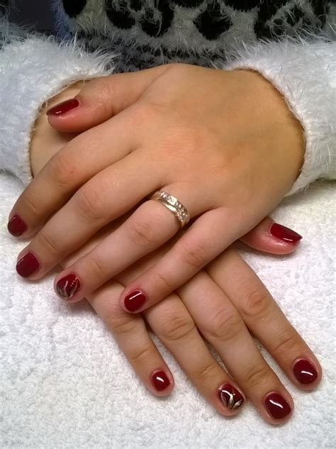 ongle en gel court poses d ongles en gel
