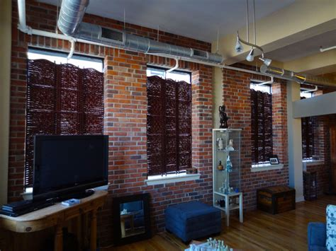 Brick Veneer Interior by Interior Thin Brick Veneer In Industrial Style Condo
