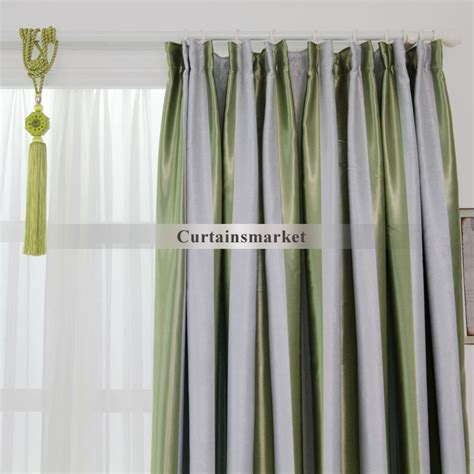 grey green curtains curtains green and grey decorate the house with