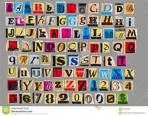 lettere anonime lettera anonima immagini stock libere da diritti