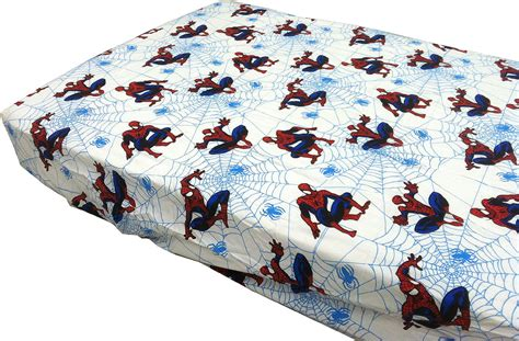 marvel toddler bedding spider man toddler fitted sheet marvel comics amazing