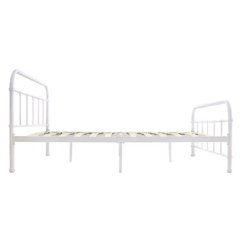 king size bed foundation metal bed frame storage full queen king cal size mattress