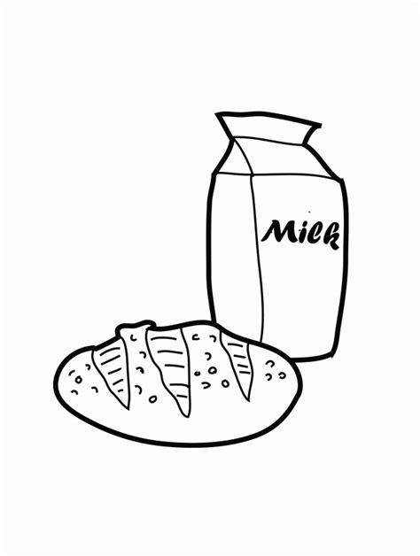 milk carton coloring page coloring home