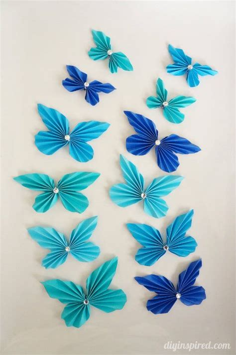 Papercraft Butterfly - best 25 diy paper crafts ideas on paper