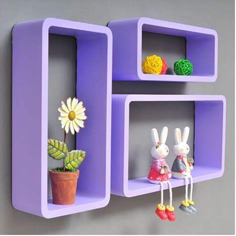 Dijual Sale Rak Dinding Organizer Serbaguna 3pieces lot hexagon shaped decorative wall shelves wood