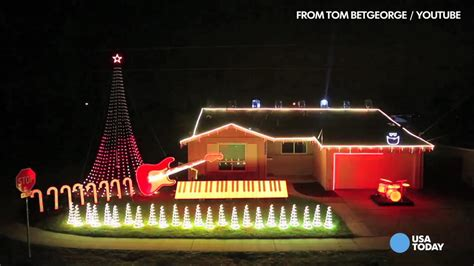 outrageous light displays most outrageous lights of the season usa now