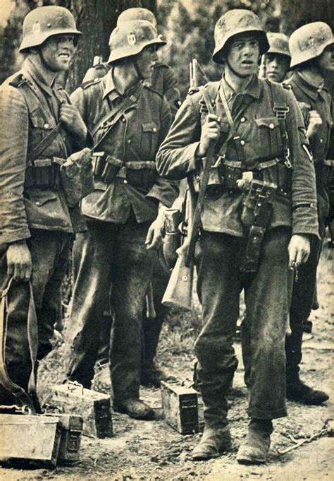 wwii german ss soldiers waffen ss in the west 1940 the front soldiers of 1940