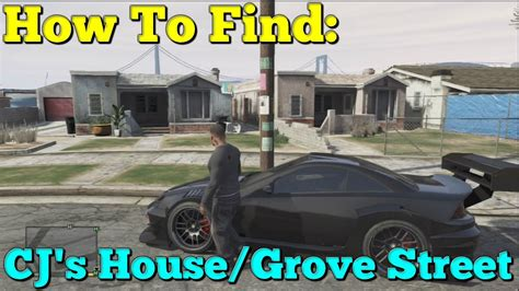 gta 5 cj house gta 5 how to find cj s house grove street youtube