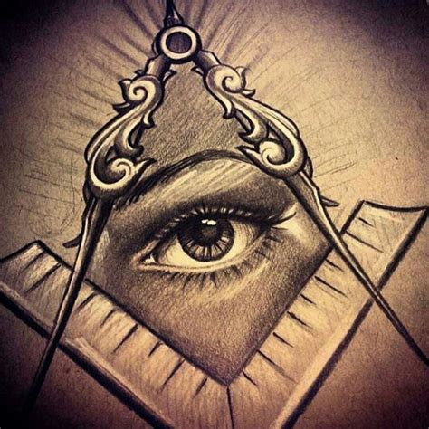 tattoo eye mason 126 best masonic tattoos images on pinterest freemason
