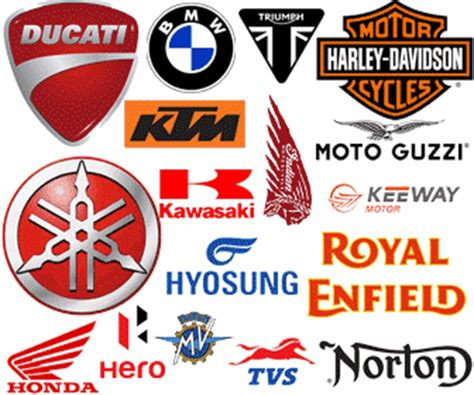 Motorrad Marken Logo by The Motorcycle Brand Logo Collection Findthatlogo