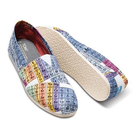periodic table of elements toms cheap toms periodic table vegan classics outlet shop