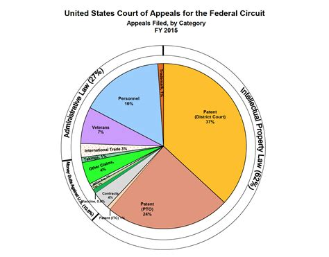 caseload distribution federal circuit now receiving more appeals arising from the pto than the district courts