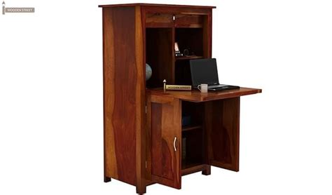feldon study table bookshelf honey finish