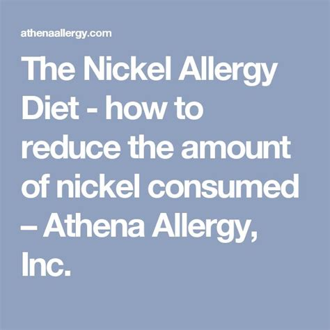Detox Nickel Allergy by 482 Best Images About Nickel Free Products On