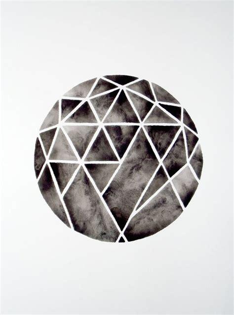 geometric designs using circles geometric circle watercolor painting minimalist