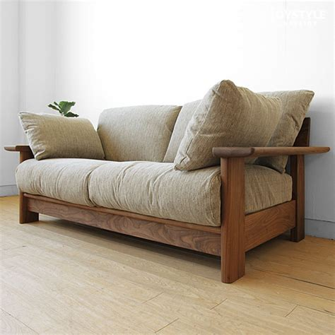 Wooden Frame Sofa With Cushions by Joystyle Interior Rakuten Global Market Cover Ring
