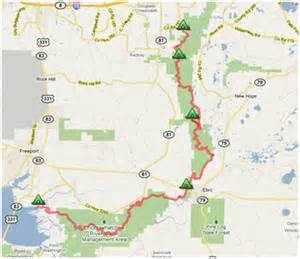 choctawhatchee river paddle trail in the works walton