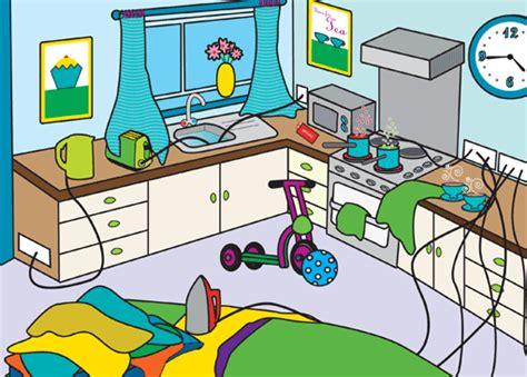 Kitchen Hazards Stay Safe In The Kitchen