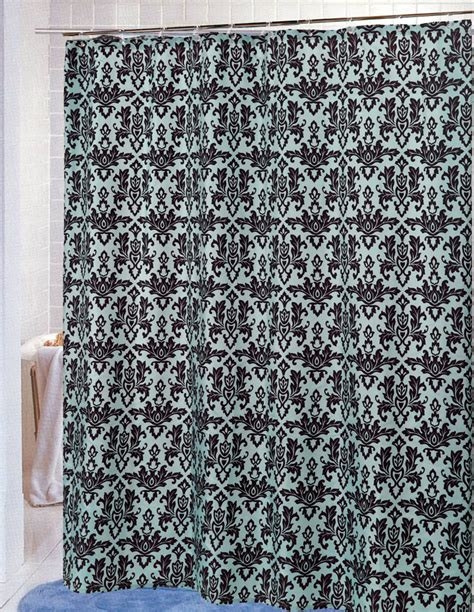 damask curtain material carnation home fashions inc damask fabric shower curtains
