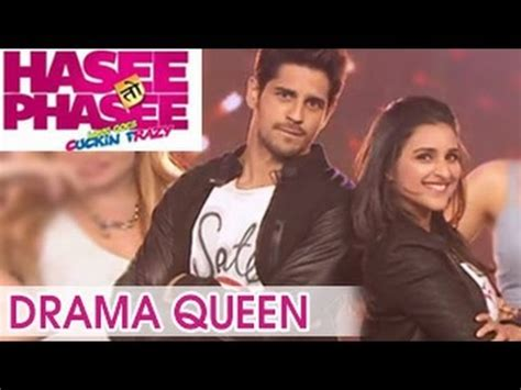 songs of film drama queen hasee toh phasee drama queen song sidharth malhotra