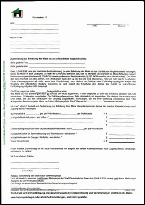 Muster Mietvertrag Haus Und Grund Musterschreiben Mieterh 246 Hung