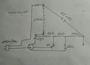 fan capacitor wiring diagram fan wiring diagram free