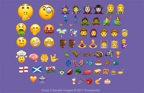 android new emojis 53 new emojis heading to android o and versions of the os