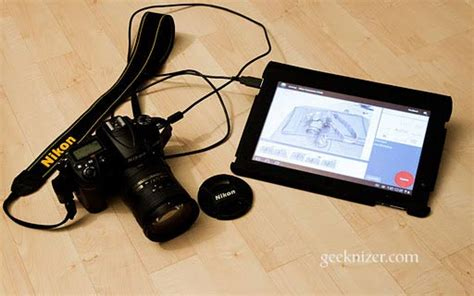 top apps  control canon nikon dslr  android tablet