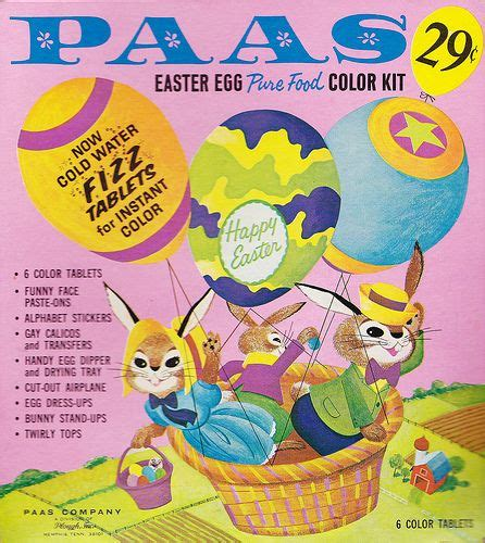 easter egg coloring kit the only way to dye eggs vintage paas easter egg coloring