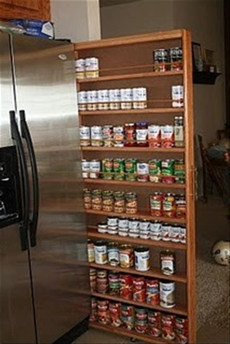 kitchen cabinet spice rack organizer refrigerator small diy canned food organizer tutorial pinterest water