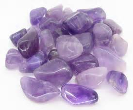 Amethyst owes its colour to iron and aluminium impurities it is a