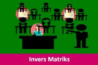 contoh soal invers matriks  pembahasannya